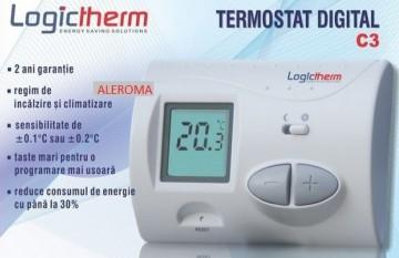 Poza Termostat de ambient cu fir LOGICTHERM C3