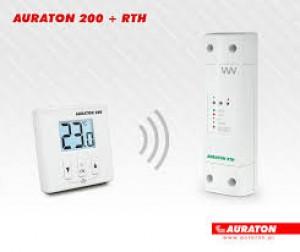 Poza Termostat fara fir Auraton 200 RTH neprogramabil
